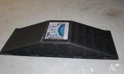 In very good condition, very durable skate ramp, for
