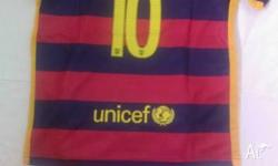 One set $30 Barcelona Messi Size 14, 16, 18, 20, 22,