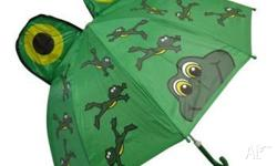 Kids Umbrellas Pink Butterfly or Green Frog $10 each or
