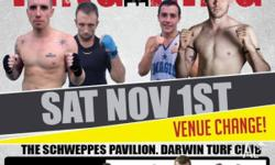 KING OF THE RING November 1dt schweppes pavilion Darwin