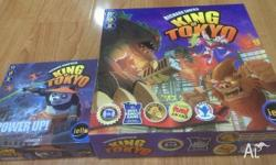 Richard Garfield's King of Tokyo and the first Power Up
