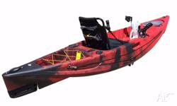The Kings kraft 3.3: Pedal Kayak Features: Removable