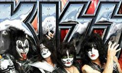 Kiss 40th anniversary Perth concert close to stage 2x