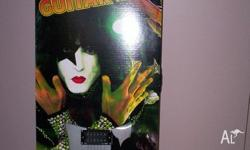 For sale is a Paul Stanley of KISS signed ltd ed guitar