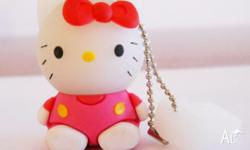 The Kitty 4GB USB Flash Drive is a portable and