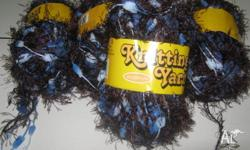 LAST 5 BALLS OF THESE YARNS 5 BALLS FOR $5 1 LOT X