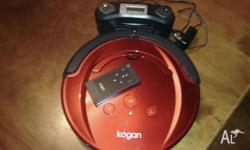 Near new Kogan robot vac with remote control. Pickup