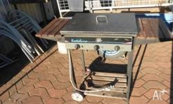 BBQ has a flat plate & grill, needs a new regulator