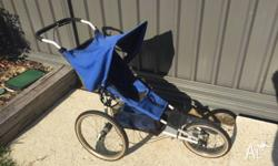 Voted one of the best jogging prams around. Lightweight