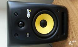 Up for sale are two KRK Rokit 6 Studio Monitors. These