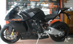 KTM, 1190 RC8, MY09, 2009, BLACK, ROAD, 1148cc, 113kW,