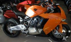 KTM, 1190, 2008, Orange, ROAD, 1190cc, 2cyl, 0kms,