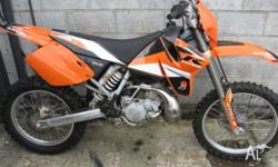 KTM, 200CC, 2000, ENDURO, 193cc, 6 SPEED MANUAL, 2000