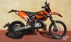 KTM,200CC,2007, ENDURO, .2, 1cyl, 6sp MANUAL, Perfect