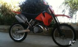 For sale is my 1999 ktm 250sx. great condition for its