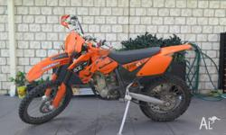 Selling my 2006 KTM 250 SXF due to moving overseas.