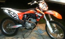 Immaculate 2011 MX Bike.55 hours since new. Only 5