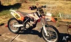 KTM sx 2011 done 64 hours well looked after electric