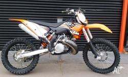 Just traded at Flinders Motorcycles, 2010 KTM 250sx!