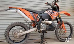 KTM 300 EXC-E 2008 model. Very well maintained and