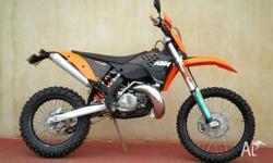KTM,300EXC,2009, ENDURO, .3, 1cyl, 5 SPEED MANUAL,