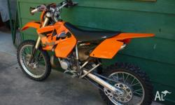 KTM300exc, 2004, 1 owner from new, excellent condition,