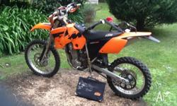 2004 ktm 450 exc Runs great just serviced. New front