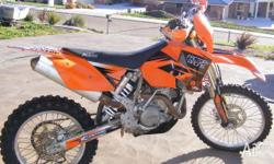 KTM 450 EXC Enduro, 6 speed, push button Electric start