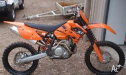 2006 model ktm 450sxf very good condition well