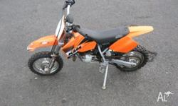 KTM, 50CC, MY04, 2003, MINIBIKE, 49cc, 1 SPEED AUTO