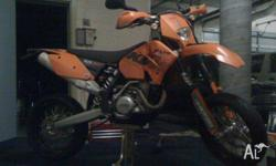 Up for sale is my '06 KTM 525 Motard/Dirt. The bike is