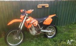 hi there up for sale i have a 450 exc i bought this