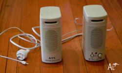 KTX Multimedia Speaker System (2 speakers) We are a