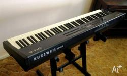 Kurzweil SP-4 8 Stage piano in excellent condition with