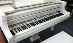 KURZWEIL GRAND PIANO Mk150 DIGITAL 5ft Grand in WHITE,