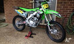 Kx250f 2013 In very good condtion Maintained and