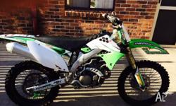 Kx450f 2009 very well maintained by original owner. Pro