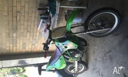 Fresh top and bottom end ,new clutch ,tyres chains