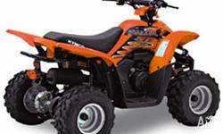 KYMCO,MAXXER 50,2010, ORANGE, BLACK trim, ATV, 49cc,