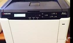 A professional A4 colour laser printer for the office
