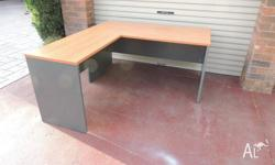 L Shaped Office/Study Desk in very good condition.