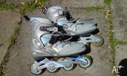 Inline skates are entry level and in very good