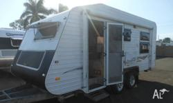 HERVEY BAY CARAVANS Nice Quality Touring Caravans Rear