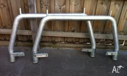 Ladder rack to fit D22 Navara. Easy to install, with