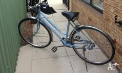 ladies bike good condition ,good tyres, no gears but