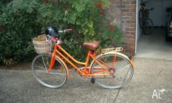 Ladies Bike;hardly used;accessories include wire and