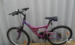 Ladies Northern Star Mountain Bike. 15 speed with 24