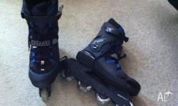 A pair of ladies Rollerblades, excellent condition pick