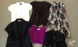 Ladies Size 8-10 Bundle including Jackets, Tops and a