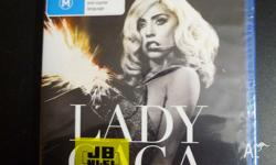 New Lady Gaga dvd. Still in plastic though someone had